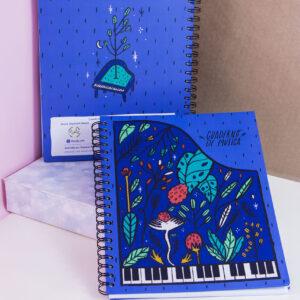 cuaderno de música pianissimo